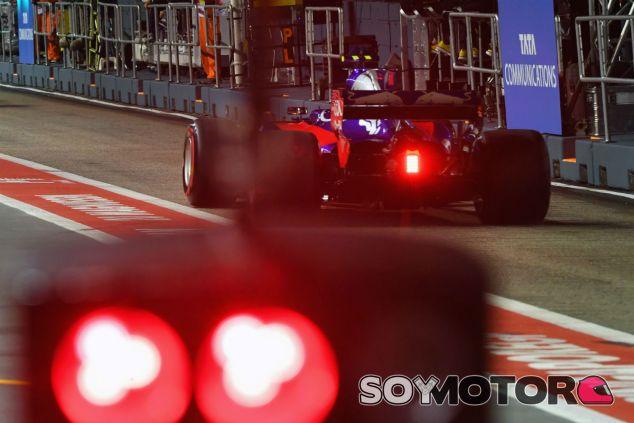 Sainz en Singapur - SoyMotor.com