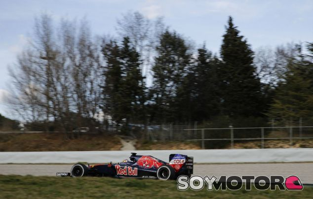 Carlos Sainz en Montmeló - LaF1