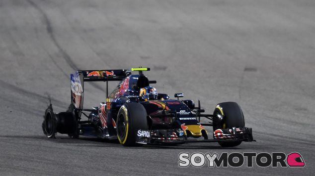 Así ha quedado el coche de Sainz tras el toque de Pérez - LaF1