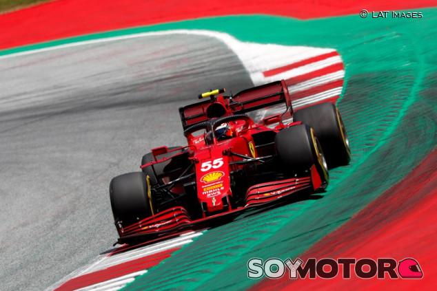 """Sainz, fuera de la Q3 en Estiria: """"Sufrimos en este circuito"""" - SoyMotor.com"""