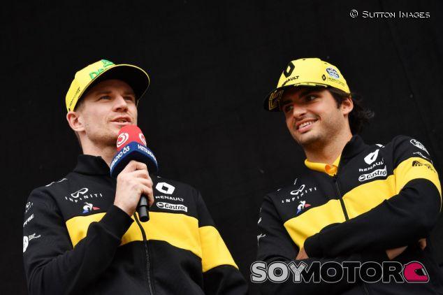 Nico Hülkenberg (izq.) y Carlos Sainz (der.) – SoyMotor.com