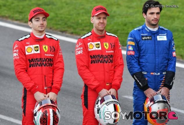"""Sainz y los rumores de Ferrari: """"Lo veo como un cumplido"""" - SoyMotor.com"""