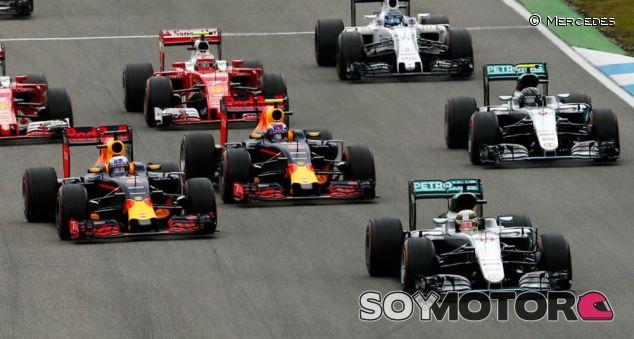 Escena del GP de Alemania - SoyMotor
