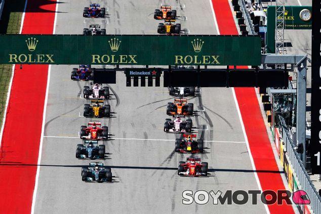 Parrilla de salida del GP de Estados Unidos - SoyMotor.com