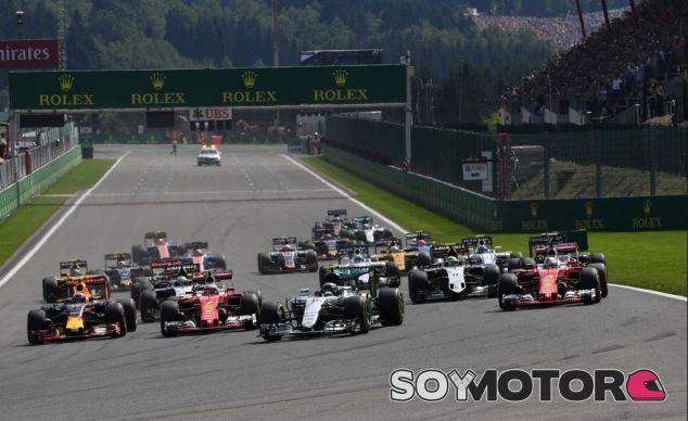 Salida del GP de Bélgica - SoyMotor