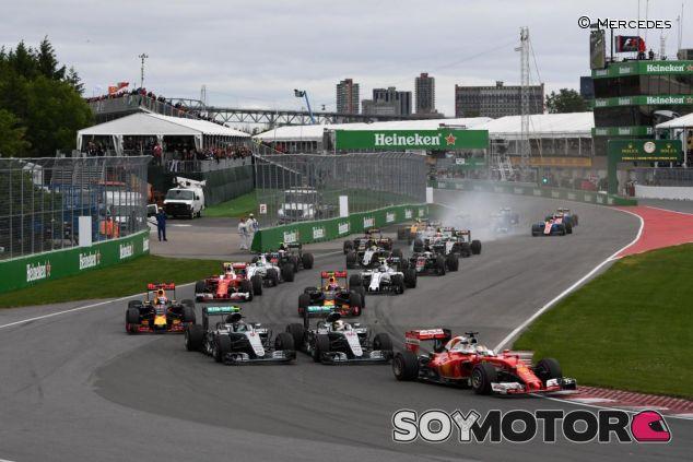 Salida del GP de Canadá - SoyMotor