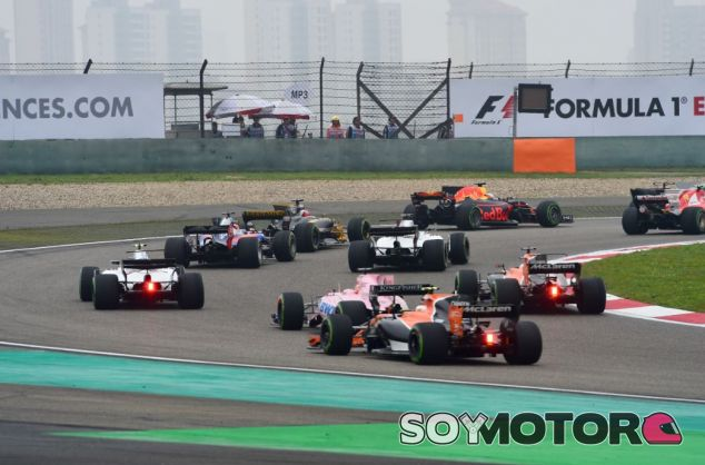 Salida del GP de China - SoyMotor