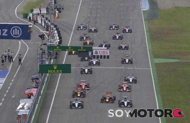 Salida del Gran Premio de Alemania - LaF1
