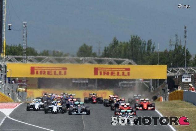 Salida del GP de España - LaF1.es