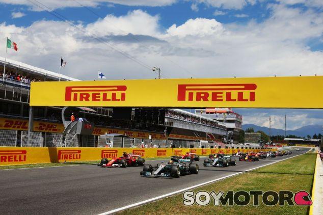 Salida del GP de España - SoyMotor.com
