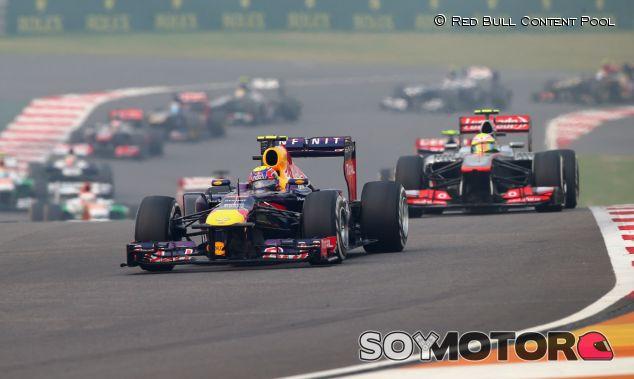 Salida del Gran Premio de la India F1 2013 - LaF1