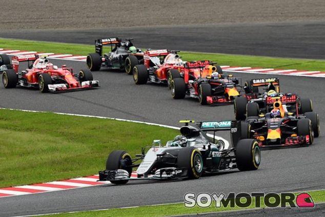 Salida del GP de Japón 2016 - LaF1