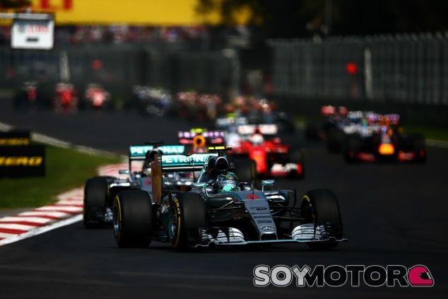 La falta de agarre, gran protagonista en el primer GP de México - LaF1