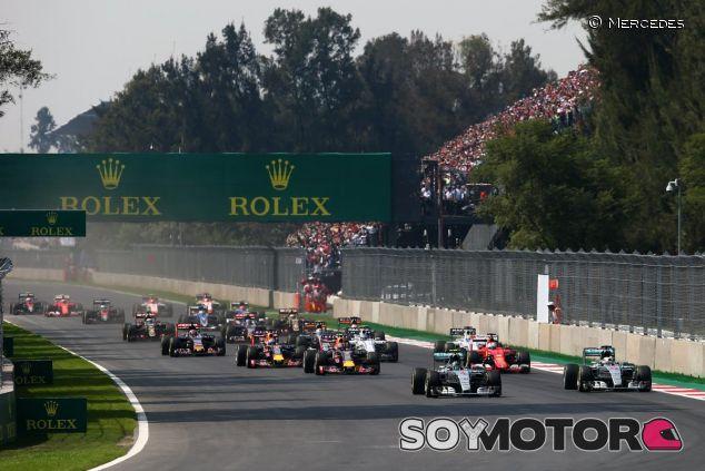 Salida del GP de México de 2015 - LaF1