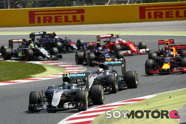 Salida del GP de España - SoyMotor