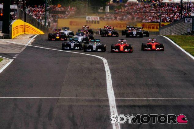 Ferrari ha superado a Mercedes en tres citas esta temporada, como en la de Hungría - LaF1