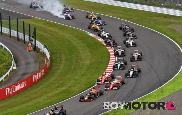 Salida del GP de Japón - SoyMotor