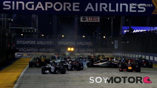 La carrera de Singapur siempre depara sorpresas - LaF1