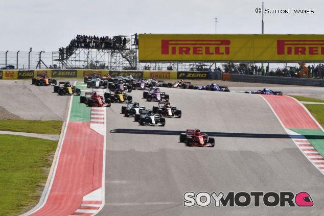 Salida del GP de Estados Unidos de 2018 - SoyMotor.com