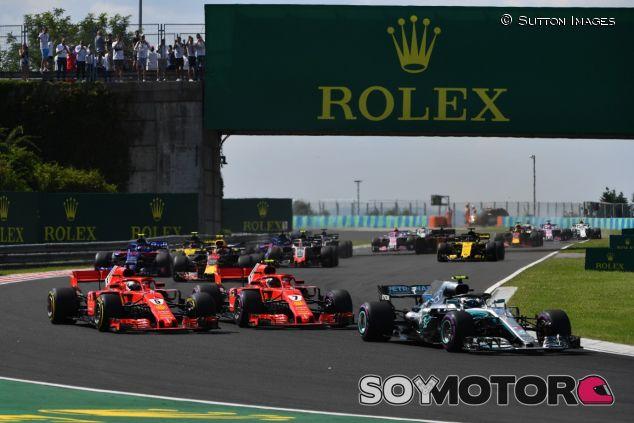Salida del GP de Hungría de 2018 – SoyMotor.com