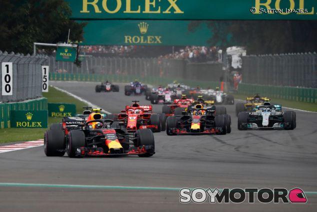 Salida del GP de México 2018 - SoyMotor.com