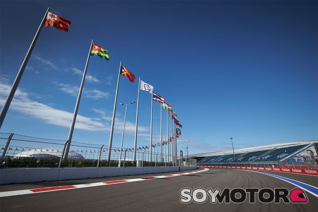 Imagen de archivo del GP de Rusia 2015 - LaF1