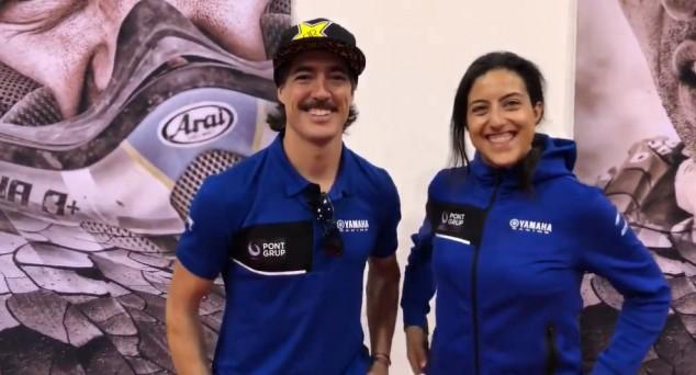 Sara García y Javier Vega, una pareja muy 'dakariana' - SoyMotor.com