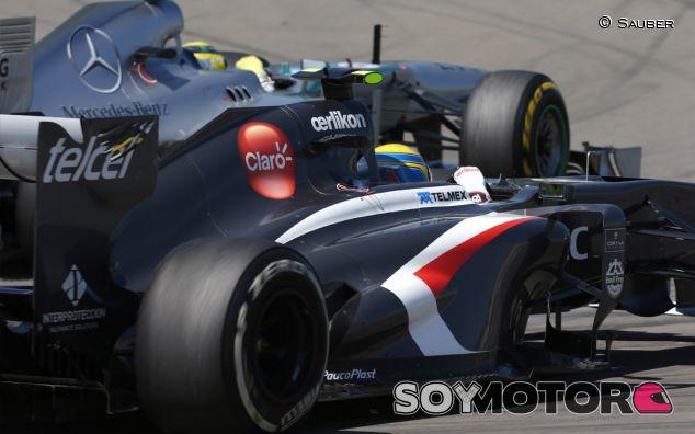 Los proveedores de Sauber reclaman casi 1 millón de euros