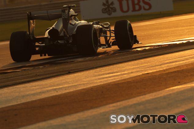 Esteban Gutiérrez en el crepúsculo de Abu Dabi - LaF1