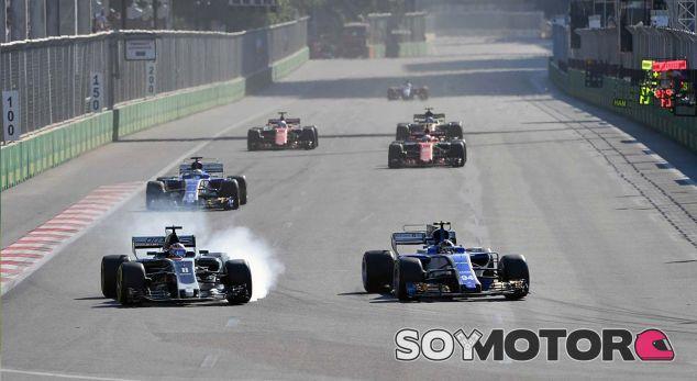 Sauber en el GP de Azerbaiyán F1 2017: Domingo - SoyMotor.com