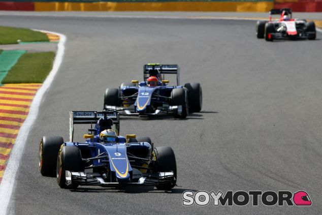 Sauber en el GP de Bélgica F1 2015: Domingo