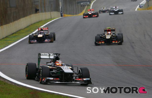 Nico Hülkenberg durante el Gran Premio de Brasil - LaF1