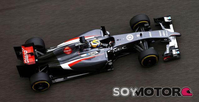 Nasr, confiado de cara su debut en la F1 con Sauber - LAF1.es