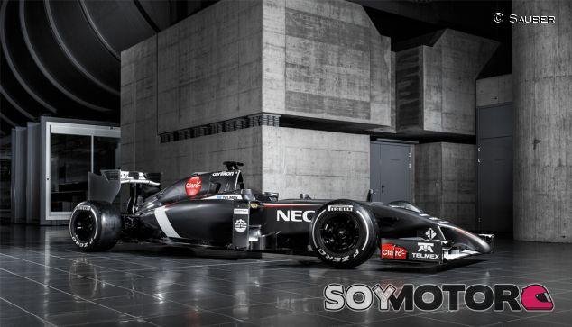 Fotografía de estudio del Sauber C33 - LaF1