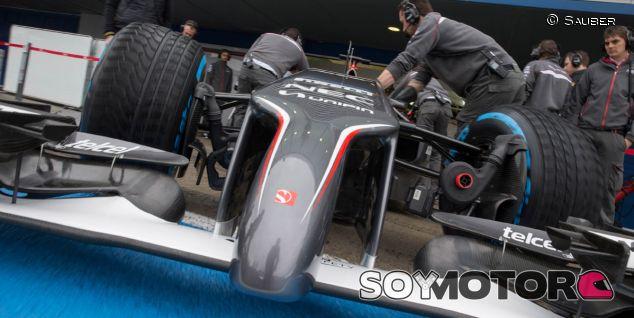 Sauber C33 en los test de Jerez - LaF1