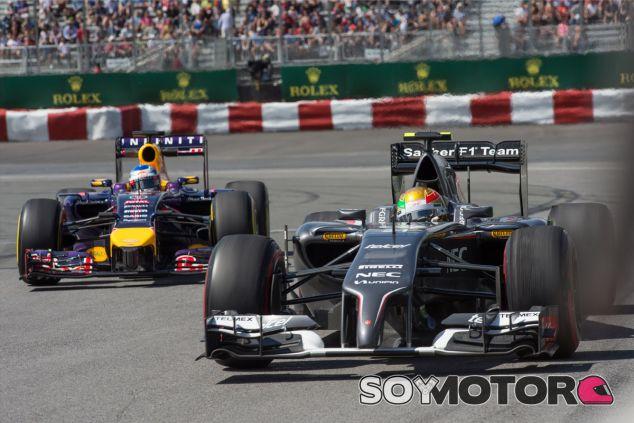 Esteban Gutiérrez durante los Libres del Gran Premio de Canadá - LaF1