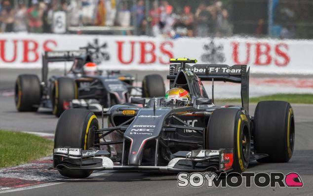 Esteban Gutiérrez y Adrian Sutil en Canadá - LaF1