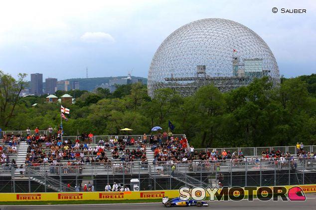 Sauber en Canadá - LaF1