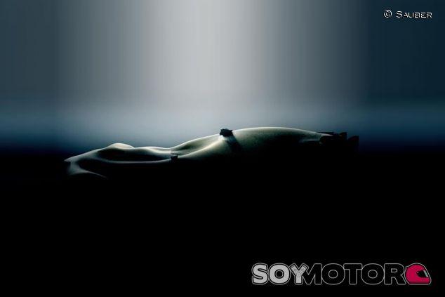 Imagen difundida por Sauber esta tarde - LaF1