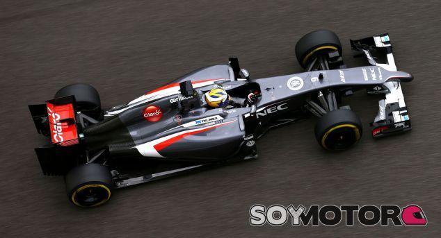Sauber confirma que el C34 ha pasado los crash test - LaF1.es