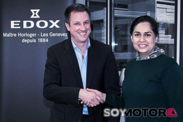 Edox, nuevo patrocinador de Sauber - LaF1