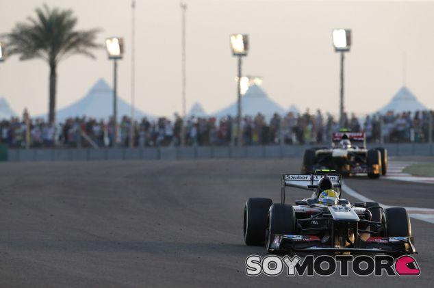 Esteban Gutiérrez en el Gran Premio de Abu Dabi - LaF1
