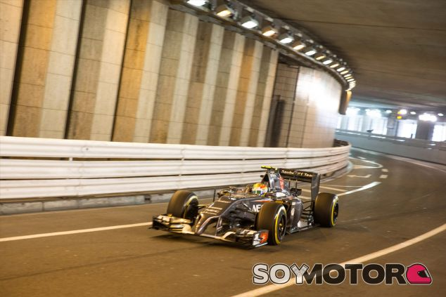 Esteban Gutiérrez a los mandos de su Sauber - LaF1