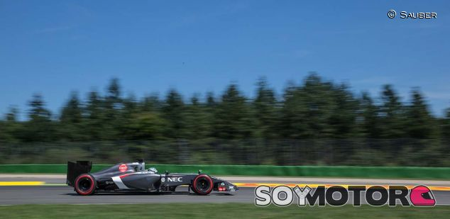 Sauber en el GP de Alemania de 2014, celebrado en Hockenheim - LaF1