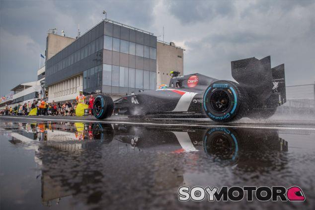 Sauber en Hungría - LaF1