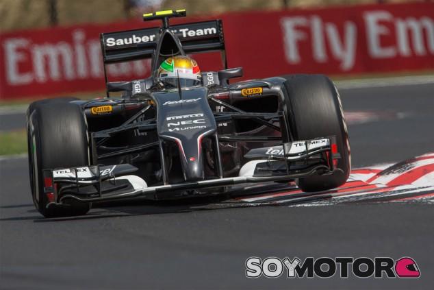 Esteban Gutiérrez en Hungría - LaF1