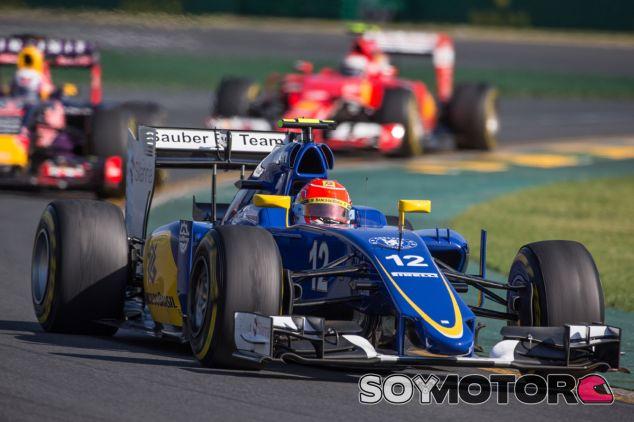 Felipe Nasr aupó su Sauber hasta la quinta plaza - LaF1.es