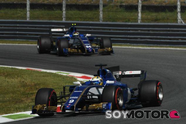 Ericsson y Wehrlein en Monza - SoyMotor.com
