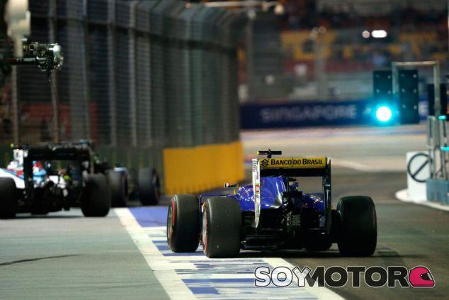 Sauber en Singapur - LaF1