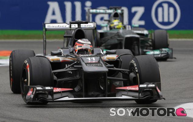 Nico Hülkenberg durante el pasado Gran Premio de Italia - LaF1